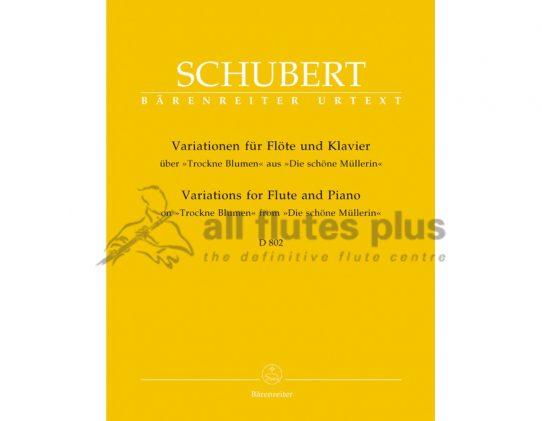 Schubert Variations on Trockne Blumen Op 160 D802-Barenreiter