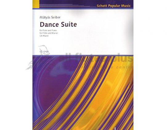 Seiber Dance Suite-Flute and Piano-Schott