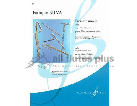 Silva Premier Amour Valse-Piccolo and Piano-Billaudot