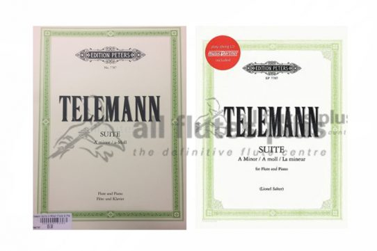 Telemann Suite in A Minor-Peters Edition