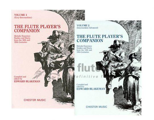 The Flute Player's Companion-Edward Blakeman-Chester