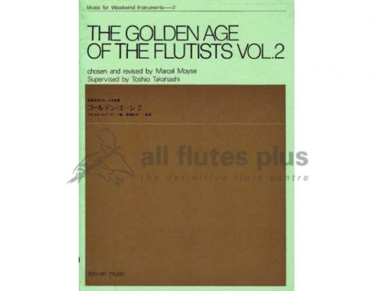 The Golden Age of the Flutists Volume 2-Flute and Piano