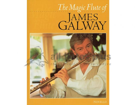The Magic Flute of James Galway-Flute and Piano-Novello