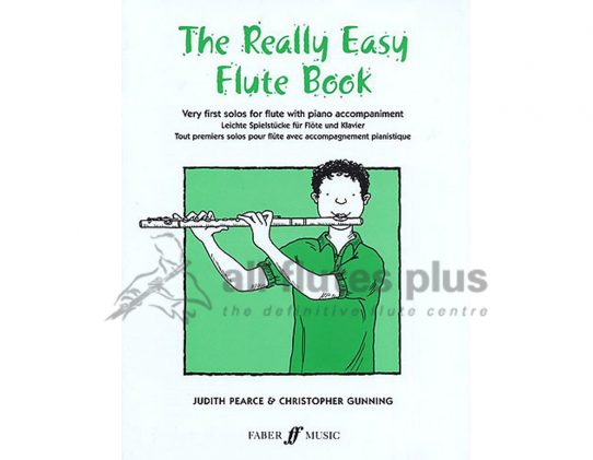 The Really Easy Flute Book-Flute and Piano-Faber