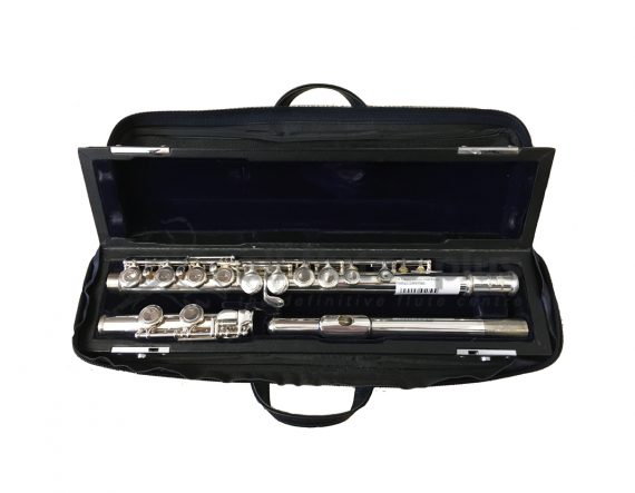 Trevor James 10ix Silver Plated Secondhand Flute-c7586