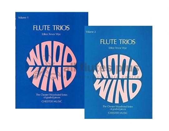 Trevor Wye-Flute Trios-Chester
