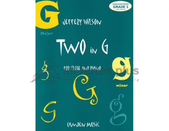 Two in G-Flute and Piano-Wilson-Camden Music