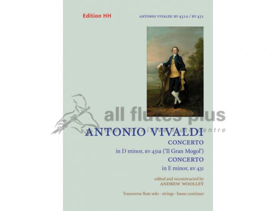 Vivaldi Concerto in D Minor RV431a II Gran Mogol and E minor RV431