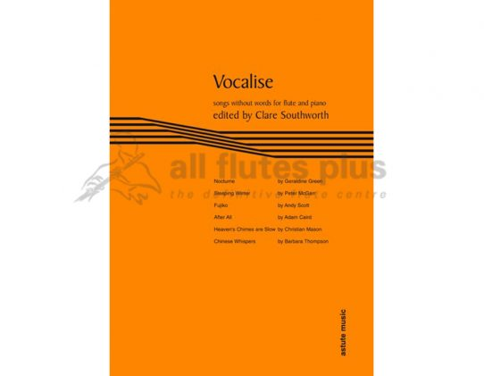 Vocalise-Songs without words for Flute and Piano-Astute