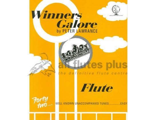 Winners Galore For Flute-42 Unaccompanied Tunes-Peter Lawrence