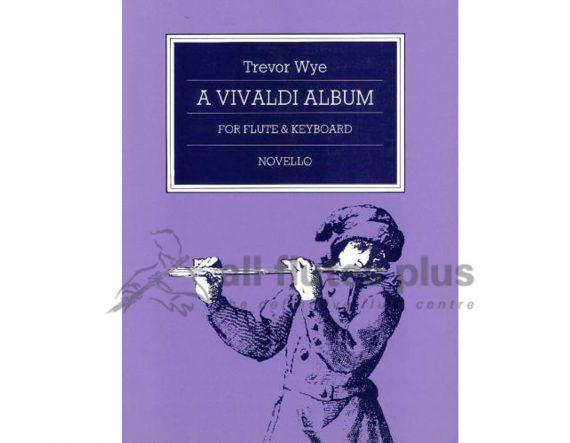Wye-A Vivaldi Flute Album-Flute and Piano-Novello
