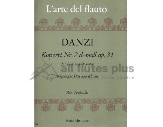 Danzi Concerto No 2 in D Minor Opus 31-Flute and Piano