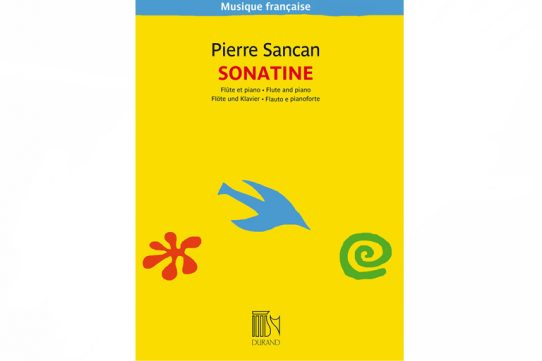 Sancan Sonatine-Flute and Piano-Durand