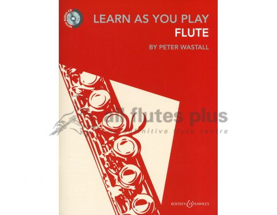 Learn As You Play Flute-Peter Wastall-CD Included-Boosey and Hawkes