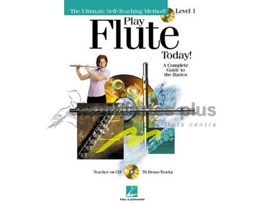 Play Flute Today! Book 1-CD Included-Hal Leonard