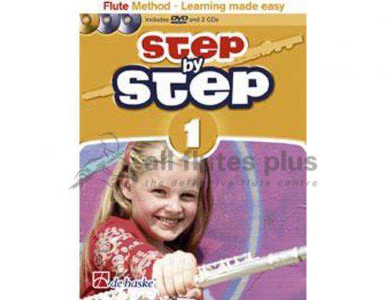 Step by Step Flute Method Series by Jaap Kastelein-De Haske