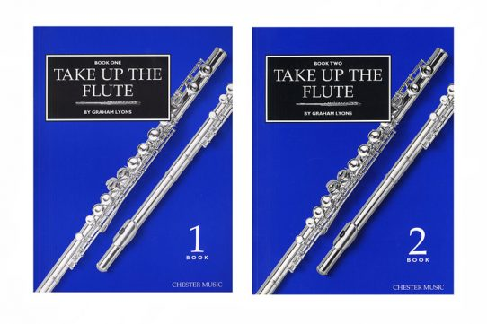 Take Up The Flute Book-Graham Lyons-Chester Music