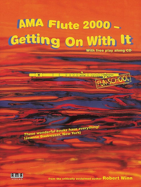 AMA Flute 2000-Getting On With It-Robert Winn (With CD)