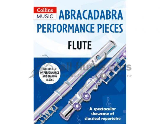 Abracadabra Performance Pieces Flute including CD-Collins Music