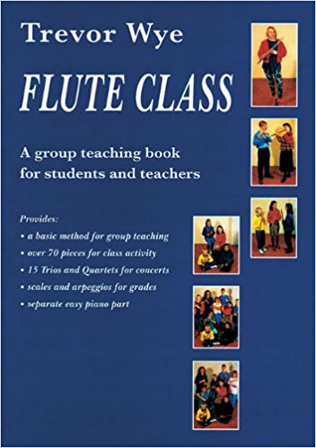 Trevor Wye Flute Class-A Group teaching Book for Students and Teachers