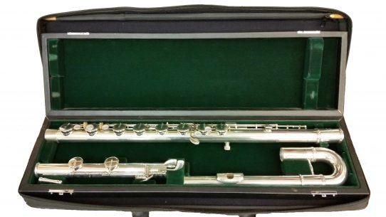 Jupiter Di-Medici Secondhand Bass Flute-c8369