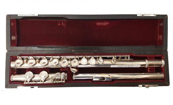 Mateki MO-003 Secondhand Flute-c8367