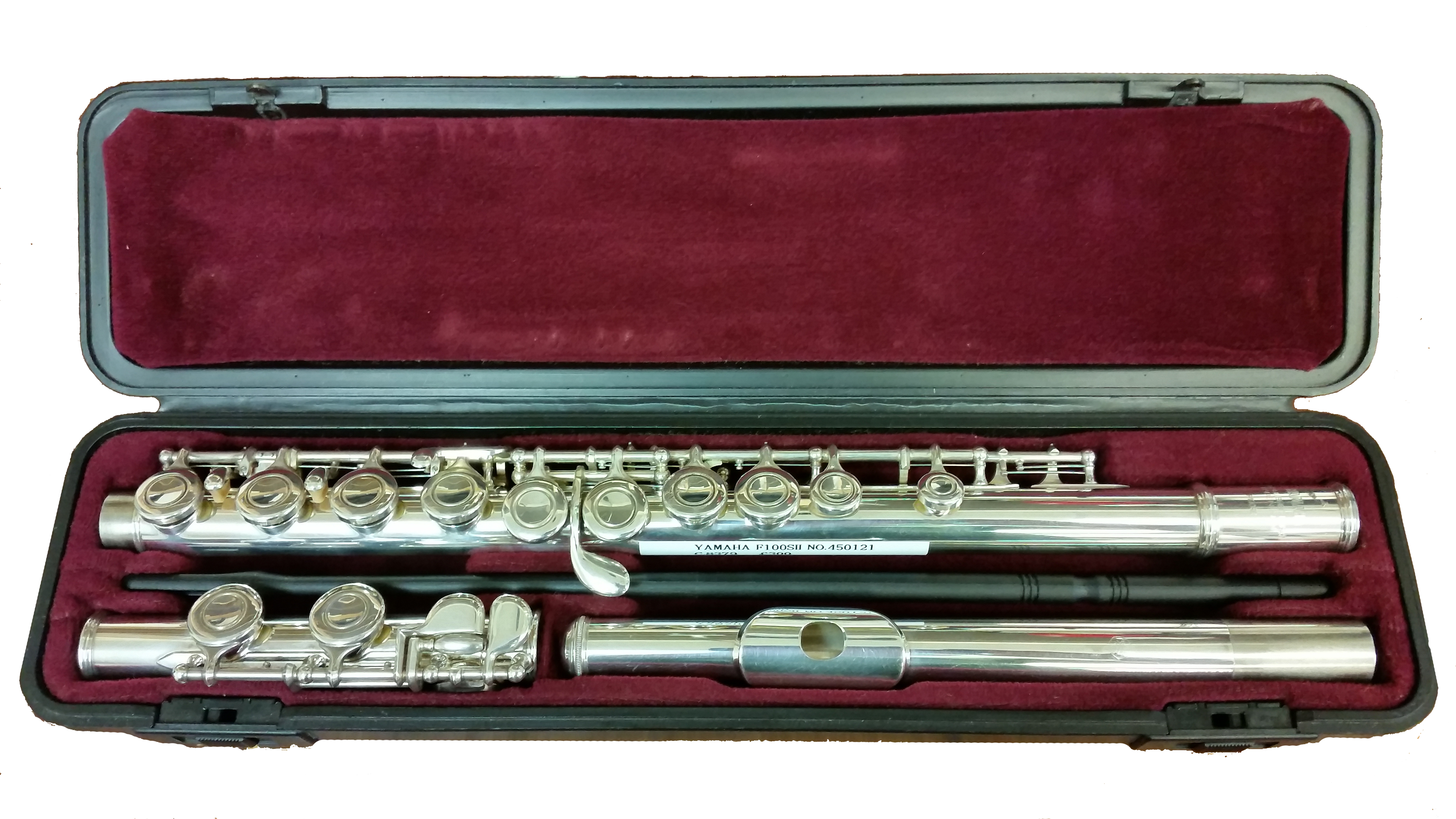 Yamaha 22s secondhand flute c8379 f1oosii model for Piccolo prices yamaha