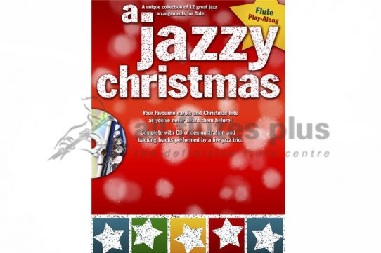 A Jazzy Christmas Flute Playalong-Wise Publications