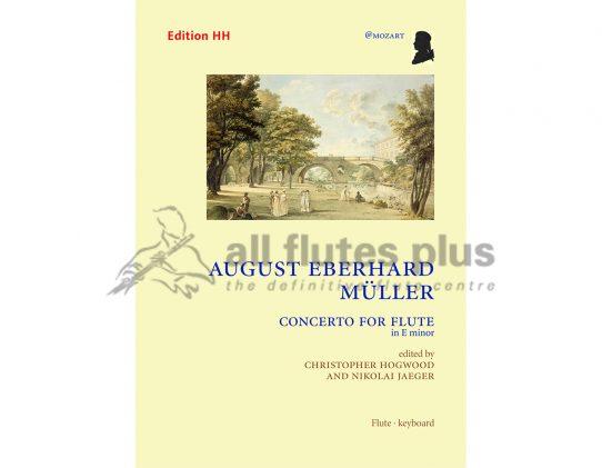 A. E. Müller Concerto for flute in E minor