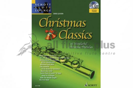 Christmas Classics-16 Wonderful Christmas Melodies-Schott