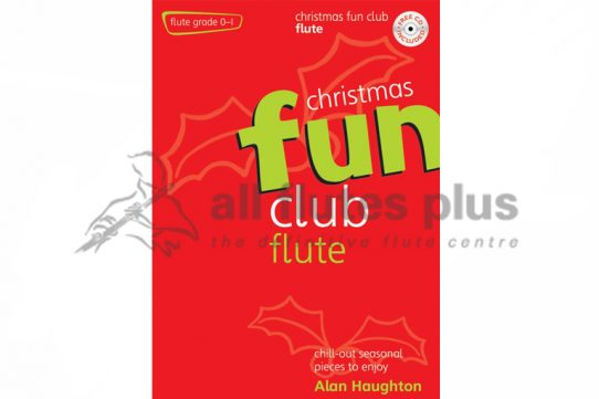 Christmas Fun Club Flute Grades 0-1-With CD-Kevin Mayhew