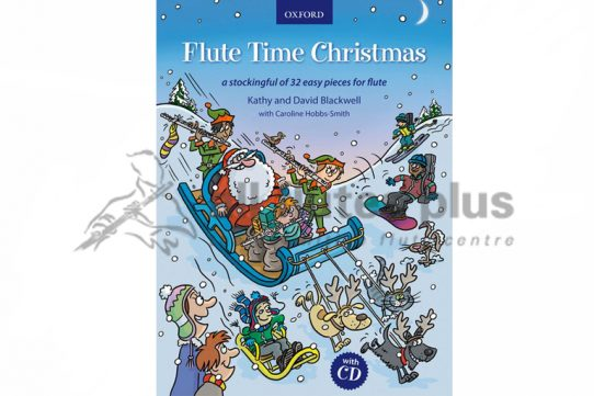 Flute Time Christmas with CD-Oxford