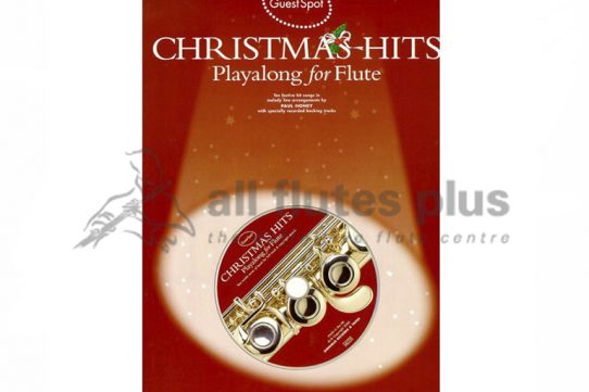 Guest Spot Christmas Hits Playalong For Flute