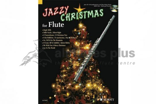 Jazzy Christmas for Flute-Schott-CD Included