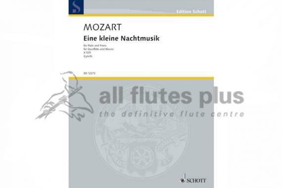Mozart Eine Kleine Nachtmusik K525-Flute and Piano-Schott