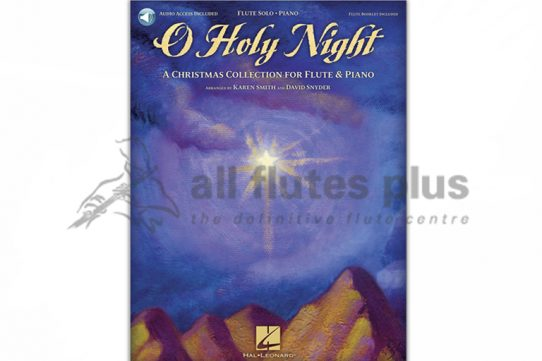 O Holy Night-A Christmas Collection for Flute and Piano-Hal Leonard