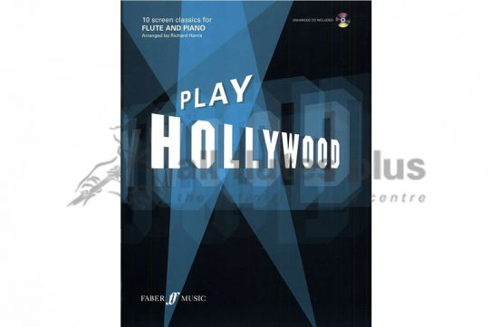Play Hollywood-10 Screen Classics for Flute and Piano-Faber