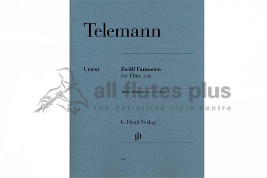 Telemann 12 Fantasias for Flute-Henle