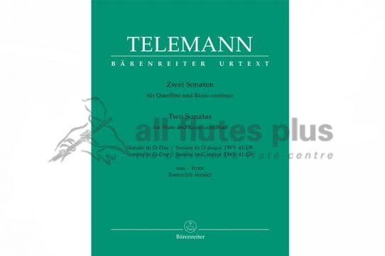 Telemann Two Sonatas From Essercizii Musici-Barenreiter