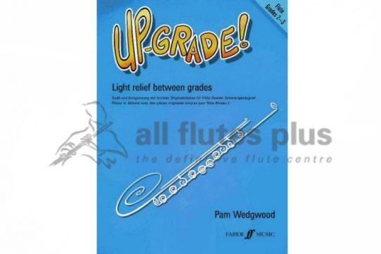 Up-Grade Flute Grades 2-3-Flute and Piano-Faber