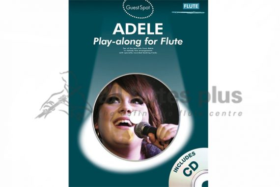 Adele Playalong For Flute-Guest Spot Including CDs