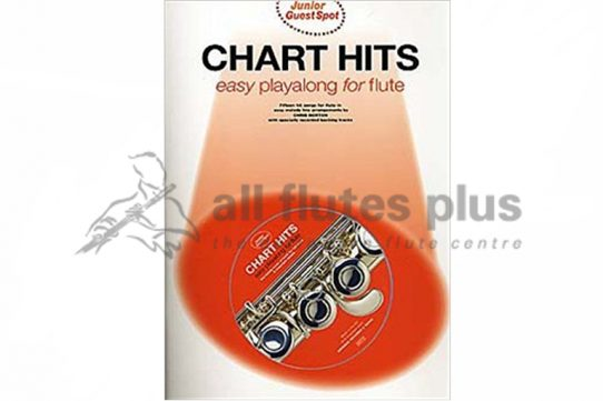 Chart Hits Easy Playalong Flute with CD-Junior Guest Spot