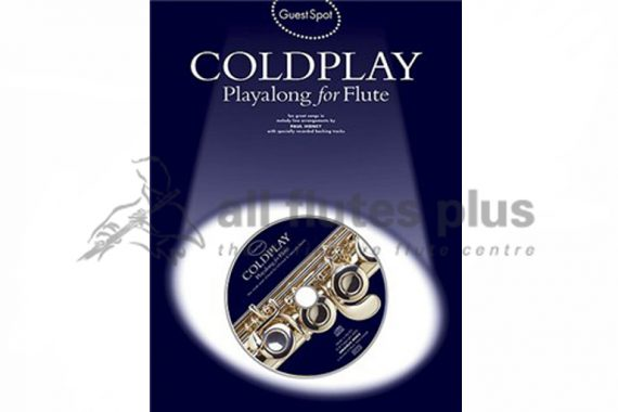 Coldplay Playalong For Flute-Guest Spot Including CDs
