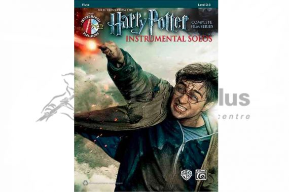 Harry Potter Instrumental Solos-Flute with CD Playalong