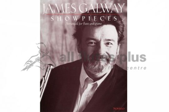 James Galway Showpieces-Flute and Piano-Novello