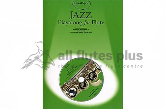 Jazz Playalong For Flute with CD-Guest Spot