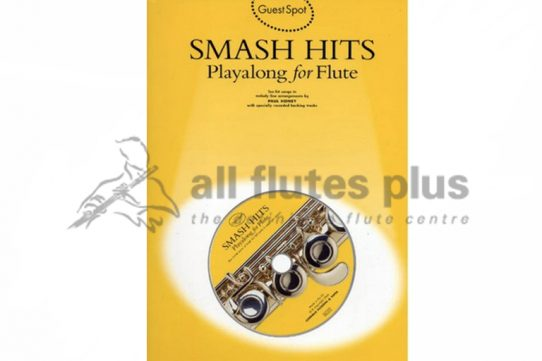 Smash Hits Playalong For Flute with CD-Guest Spot