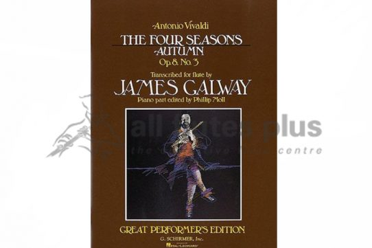 Vivaldi The Four Seasons-Autumn for Flute and Piano-Edited by James Galway