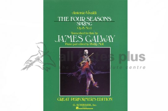 Vivaldi The Four Seasons-Spring for Flute and Piano-Arr by James Galway