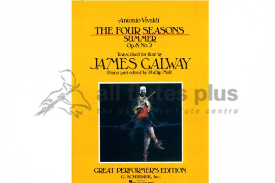 Vivaldi The Four Seasons-Summer for Flute and Piano-Arr by James Galway